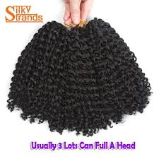 crochet hair extensions silky strands curly crochet hair 8 3pcs lot 90g afro