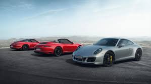 new porsche 4 door the new porsche 911 gts models