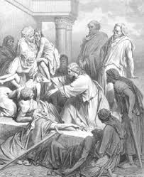Jesus Healed The Blind Man Healing In The Bible
