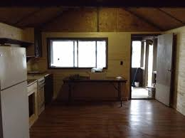 kitchen and screen deck at kitchi lake outpost camp picture of
