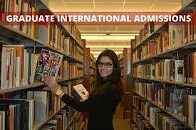 international applicant information graduate college