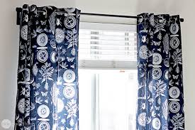 How To Sew Grommet Curtains With Lining Make Your Own Grommet Curtains In An Afternoon One Good Thing By