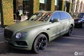 matte bentley bentley bentayga 28 december 2016 autogespot