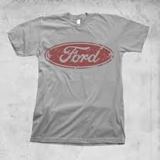 logo ford mustang shelby vintage ford washed logo t shirt limited print mustang shelby