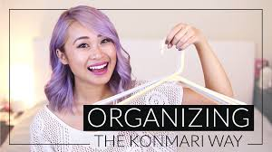 how to organize your closet the konmari way youtube