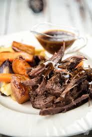 Balsamic Roast Beef In Oven Maple Balsamic Braised Chuck Roast Paleo Leap