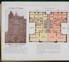 nyc apartment floor plans 10 elaborate floor plans from pre world war i new york city