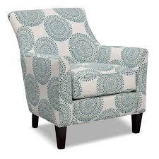Turquoise Accent Chair Carousel Accent Chair Blue Decorating Ideas