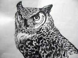 easy owl drawings in pencil how to draw an owl head chainimage