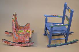 Ladybug Rocking Chair Art Rocks Brandon Chair Auction Brandon Artists Guild