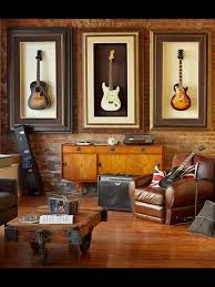 framed guitars cool for a music room dream home pinterest