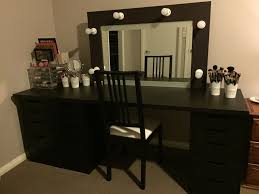 black vanity set with lights amazing vanity set with lights for bedroom hollywood lighted also