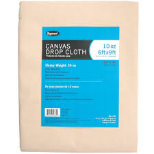Where To Buy Outdoor Curtains Sigman 5 Ft 9 In X 8 Ft 9 In 10 Oz Canvas Drop Cloth