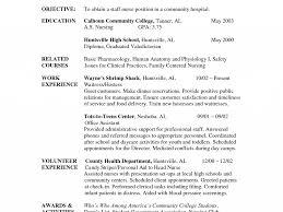 Resume Nursing Examples by 50 Sample Staff Nurse Resume Rn Resume Template Free Staff