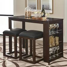 Small Bistro Table Indoor 3 Pub Table Set Bed Bath Beyond Table Setting Design