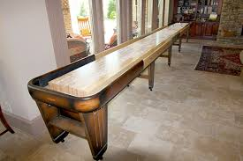 Antique Shuffleboard Table For Sale Shuffleboard Tables At Recent Trade Show In Chicagomcclure Within