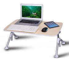 Multifonction Hauteur Réglable Lapdesk Lit Ordinateur De Bureau Bureau Pour Ordinateur Portable