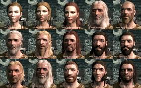 best hair mod for skyrim the incredible faces of skyrim kotaku australia