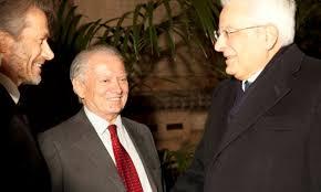 sede presidente della repubblica italiana mattarella incontra iseppi e i volontari touring club