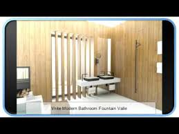 White Modern Bathroom Fountain Valley YouTube - Modern bathroom fountain valley