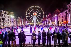 european winter travel dreams brussels winter festival in belgium