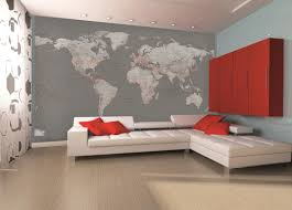 silver world map wall mural boys bedroom pinterest wall room silver world map wall mural