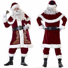 santa claus suits santa suit men ebay