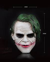 halloween costumes joker dark knight the joker mask dark knight clown mask for halloween the best