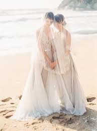 Dove Gray Wedding Dress Bridal Couple For Same Weddings Happywedd Com
