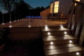 solar led deck step lights lighting ideas brick deck step lighting idea with solar lights