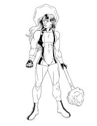 she hulk coloring pages funycoloring