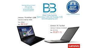lenovo black friday b u0026b supply shop