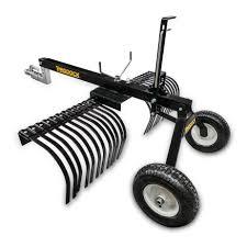 tow behind rake products