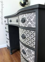 french decoupage desk themed furniture makeover day furniture