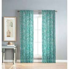 Sheer Teal Curtains Sheer Printed Curtains Sheer Printed Sheer Teal Patterned Curtains
