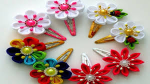 kids hair accessories candy color floral kids hair clip baby hairpins lovely children