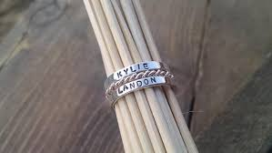 personalized rings for mothers personalized rings name rings mothers stacking name rings