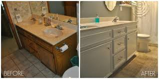 how to paint cabinets without removing doors using one can before