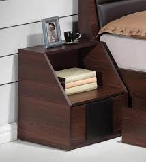 side table for bed buy ryouta bed side table in wenge finish by mintwud online modern