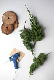diy fresh mini trees from tree lot scraps say yes