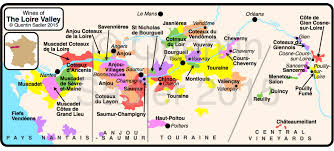 Wine Map Of France by Loire Wine Map Quentin Sadler U0027s Wine Page