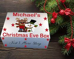 christmas boxes christmas box etsy