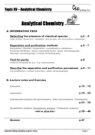 topic 15 analytical chemistry by ricky tsui issuu