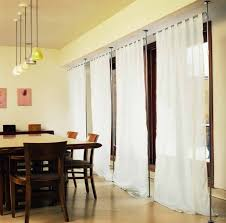 Hanging Curtain Room Divider by Interior Create Your Privacy With Curtain Room Dividers Idea