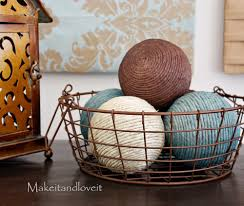 decorate my home part 13 hemp ball accents make it and love it