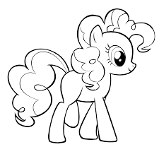 inspiring pony coloring pages pinkie 1398 unknown