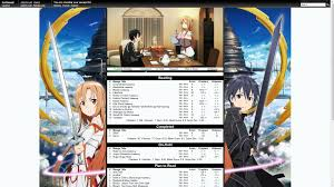 theme google chrome sword art online sword art online list template give away forums myanimelist net