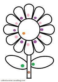 Coloriage magique fleur  Assistante Maternelle Argenteuil  Orgemont