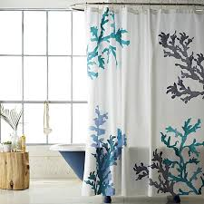 Aqua Blue Shower Curtains Stunning Summer Bed And Bath Decor