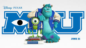 disney pixar monsters university movie story